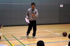 卒業生が入学前授業をコーチング!