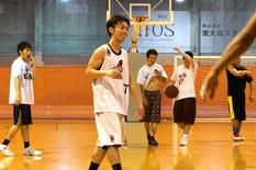 大学卒業資格をとりながらバスケ漬け生活4年間!