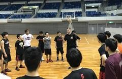 <中学校・高校>出張バスケットボールクリニック実施