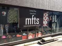 在校生によるショップ運営「MFTS」