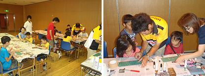 江東区豊洲文化センターにて少年少女モノづくり教室にてレクチャー