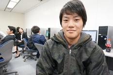 【在校生紹介】石川県から釣りのアツい思いを持って入学した出倉くん!