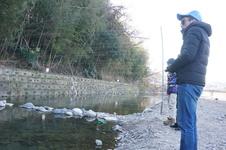 マス釣実習レポ!前編~大阪にこんなキレイな川があったなんて~