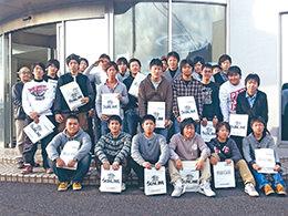 大阪から山口へ遠征、サンライン工場見学!