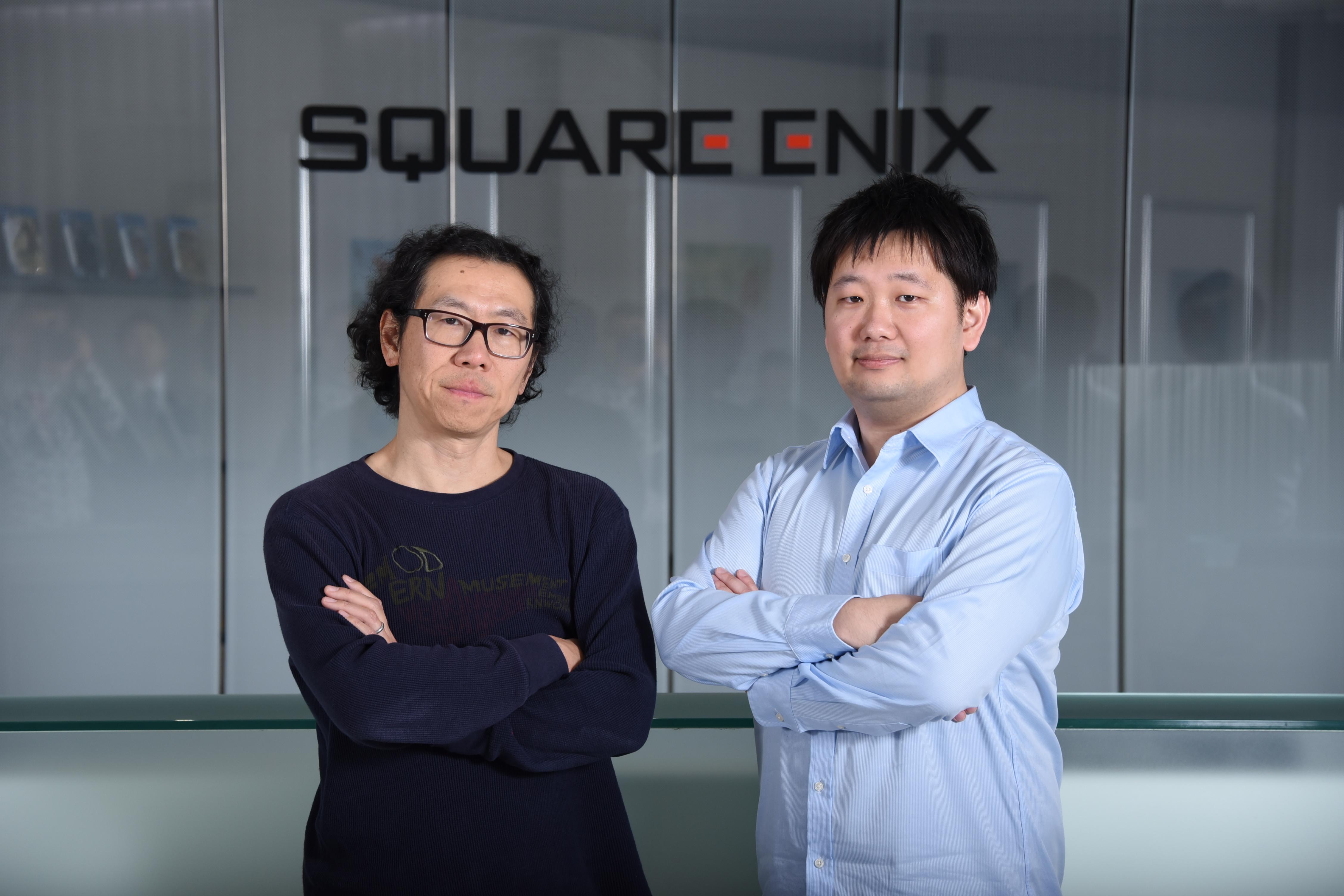 株式会社スクウェア・エニックスの時田貴司さんと卒業生の髙林亮さんのインタビュー