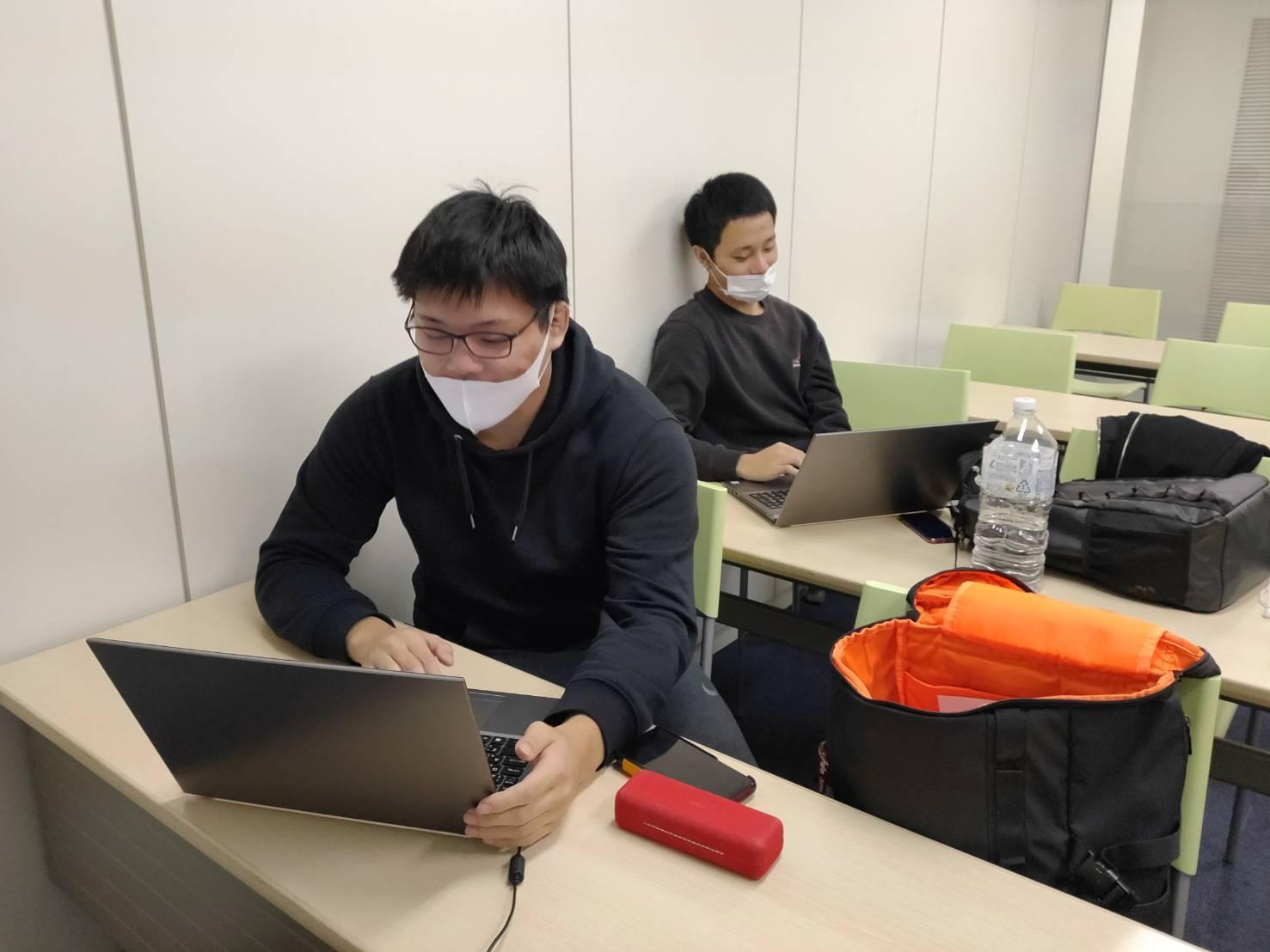 1年生勉強中!基本情報技術者試験に向けてファイト!!