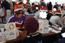 【サンタプロジェクトへ参加しました☆゜。】