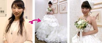 ブライダルイベントにモデルとして参加 / 成田琳香さん