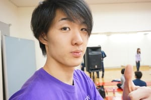 将来はスターになる気しかない!!と断言する俳優専攻の浅田くんを紹介!