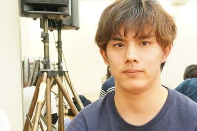高知県から大阪へ。俳優になるために積極的に吸収する谷脇くん。