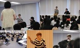 【福岡校】朴 璐美さんによる演技ワークショップ開催!~「表現者」とは?「表現者」を目指すためには~
