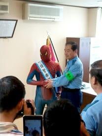 「アメイジング・スパイダーマン」のPRイベントに出演しました!