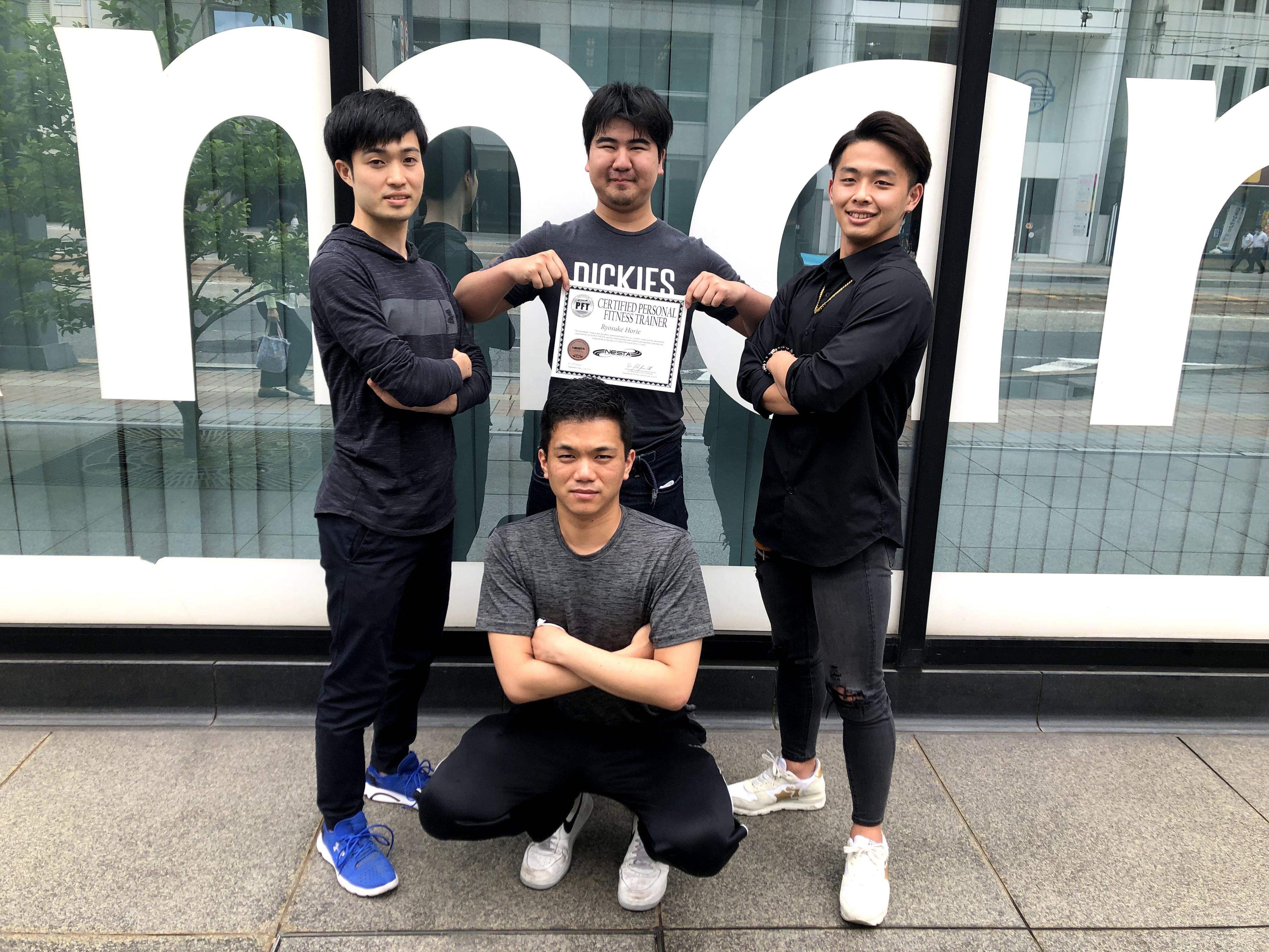 【広島校】NESTA資格試験 2年生全員合格!!